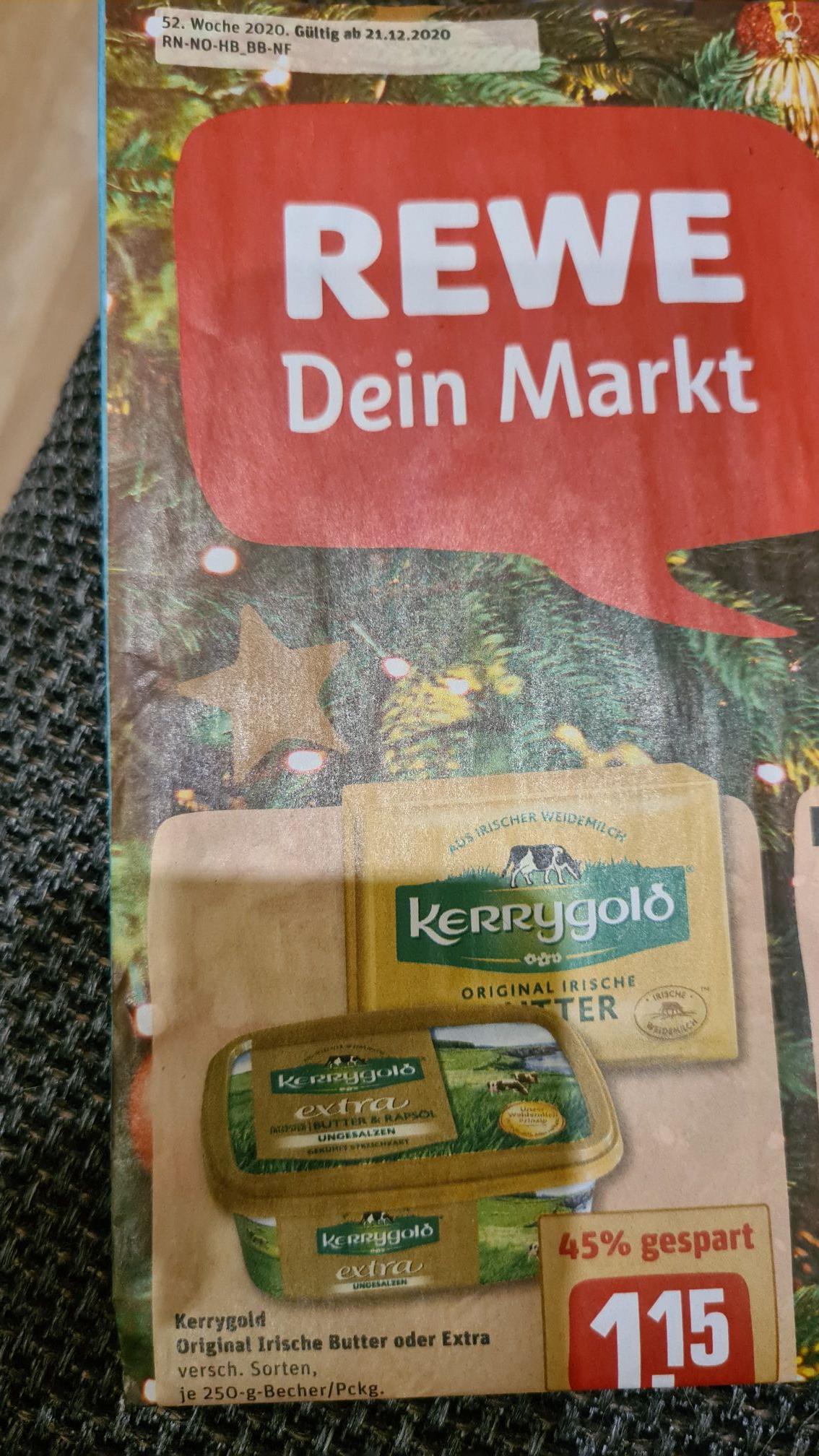 Kerrygold Original Irischen Butter oder extra