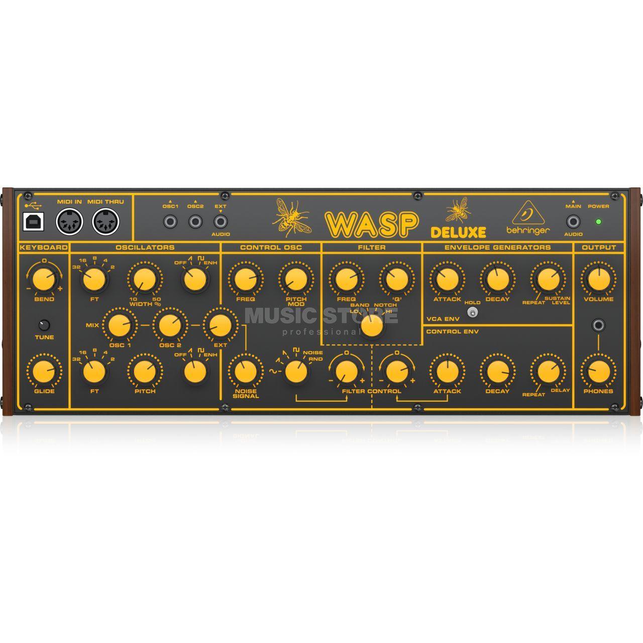 Behringer Wasp Deluxe, monophoner Analog Synthesizer [Musikinstrumente]