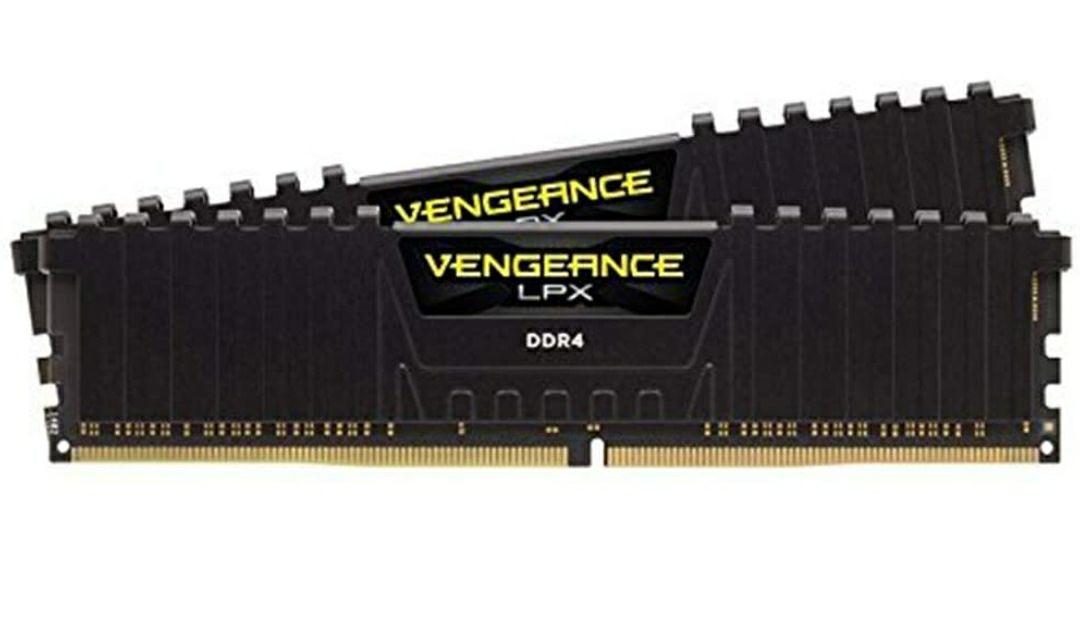 Corsair Vengeance LPX 16GB (2x8GB) DDR4 4266MHz C19 XMP 2.0 High Performance Desktop Arbeitsspeicher Kit (mit Airflow Kühlung) Schwarz