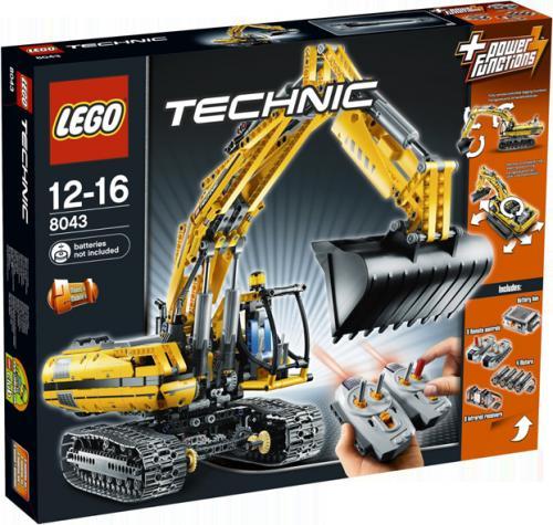 Lego Technic Raupenbagger 8043 @ buecher.de