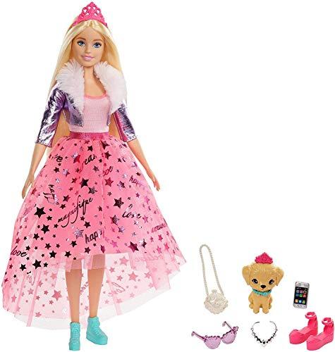 Barbie GML76 Deluxe Princess Adventure Doll