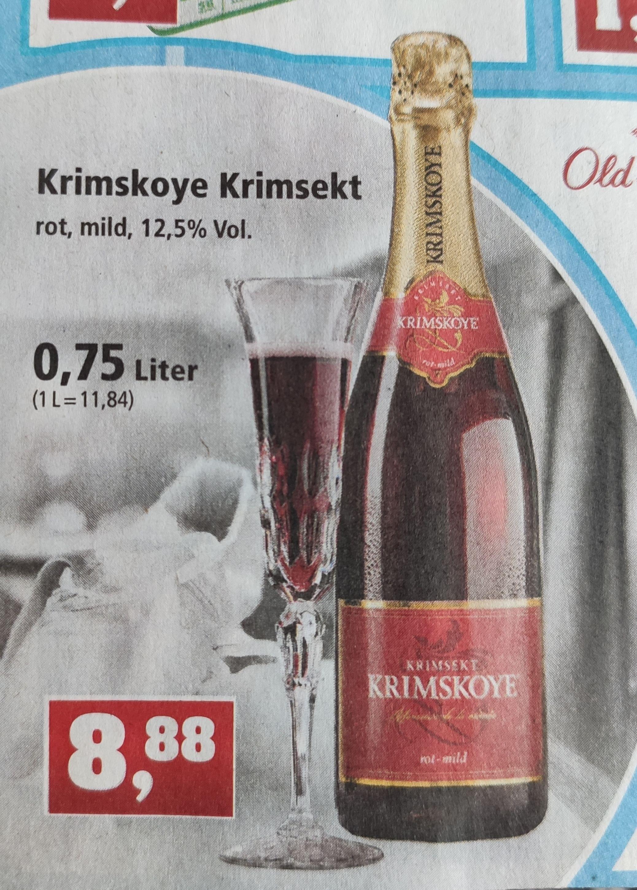 [Thomas Philipps] Krimsekt Krimskoye rot mild im Angebot