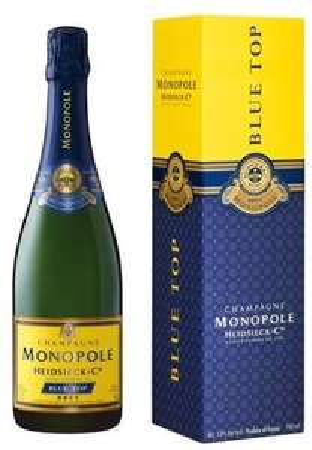 [Edeka Center Berlin Schöneweide] Heidsieck & Co Monopole Blue Top Champagner 0,75l