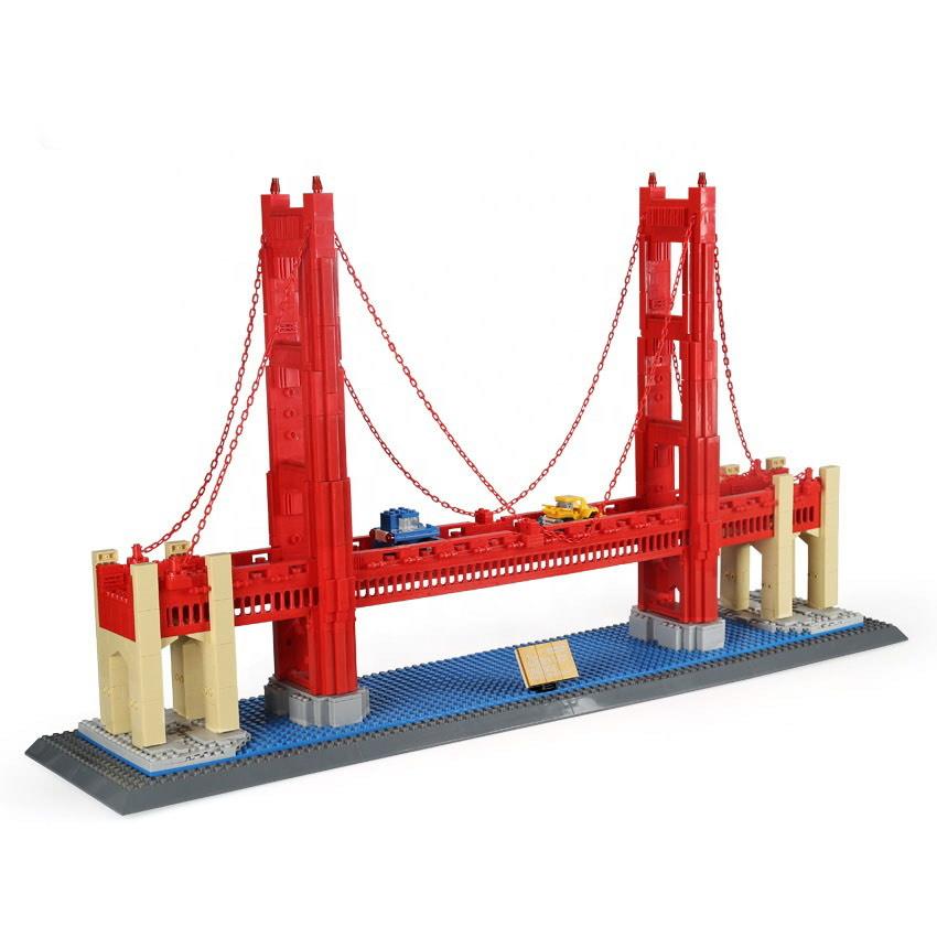 [Klemmbausteine] Wange 6210 Golden Gate Bridge und weitere