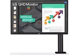 """LG 27QN880 27"""" Monitor mit integrierter Tischhalterung"""