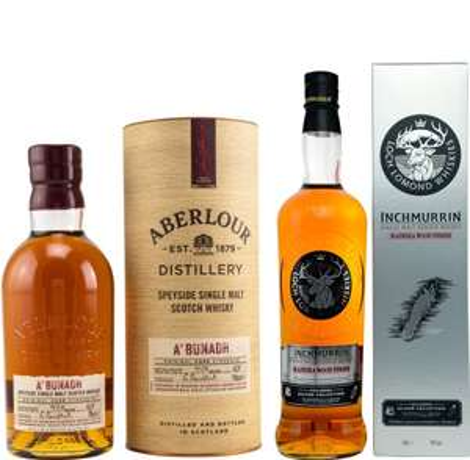 Whisky-Übersicht #62: z.B. Aberlour A'Bunadh Batch No. 67 für 53,45€, Loch Lomond Inchmurrin Madeira Wood Finish für 33,90€ inkl. Versand