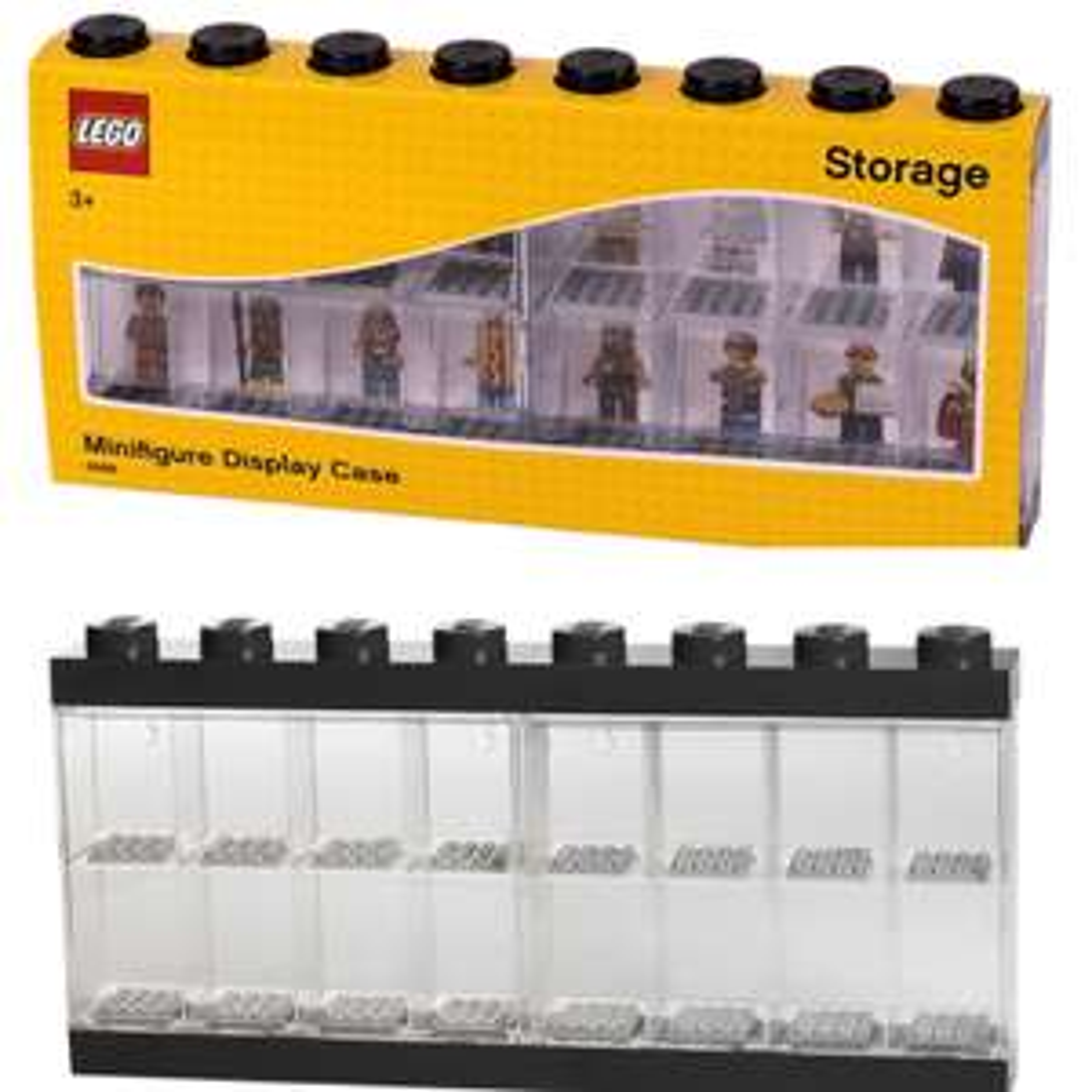 LEGO® 40660003 Minifiguren Display Case in schwarz & grau für 16 Figuren bei JB- Spielwaren (lokal Oberhausen)