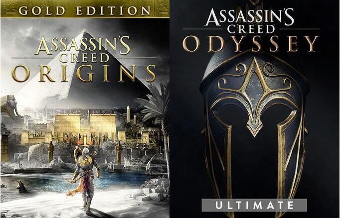 [PC] Assassin's Creed Odyssey Ultimate für 9,15€ & AC Origins Gold für 3,20€ [VPN]