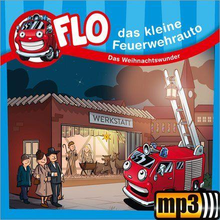 """Gratis Kinder-Hörspiel """"Feuerwehrauto Flo - Das Weihnachtswunder"""" im Gerth.de-Adventskalender"""