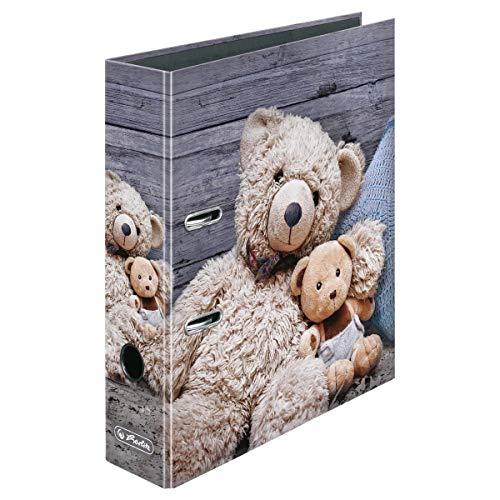 """Herlitz Motivordner/DIN A4 / 80mm breit / """"Teddy"""" (Prime) oder Herma """"Cool"""" für 2,85"""