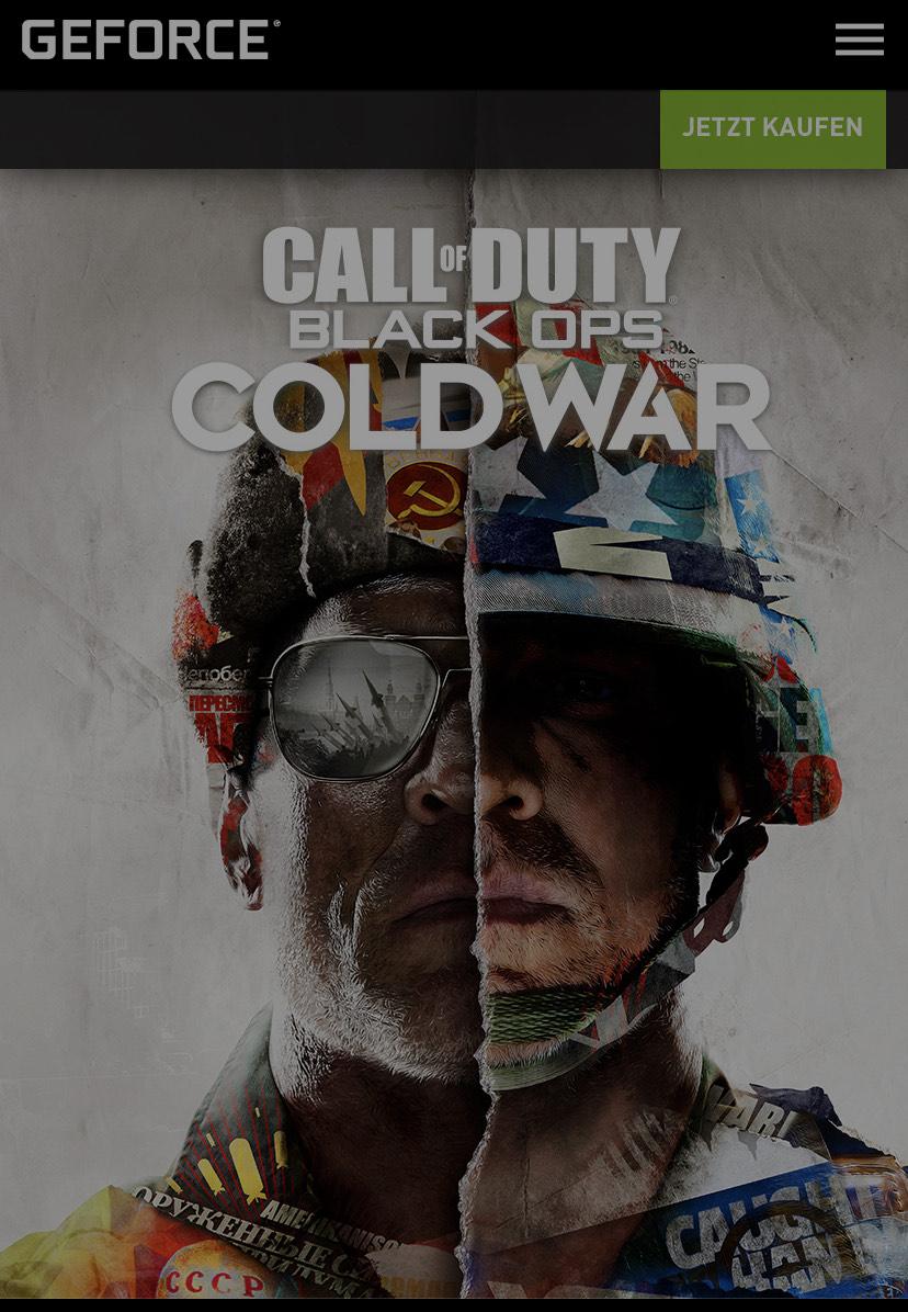 Nvidia-Bundle: CoD Black Ops Cold War kostenfrei für Käufer von RTX 3080 oder 3090