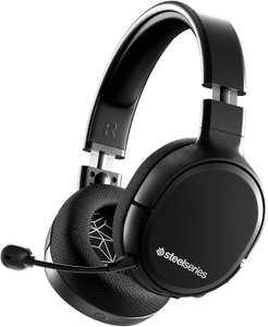 SteelSeries Arctis 1 Wireless – Gaming-Headset (2,4 GHz, 20h Akku, abnehmbares ClearCast Mikrofon, PS4/PS5, PC, Nintendo Switch, Android)