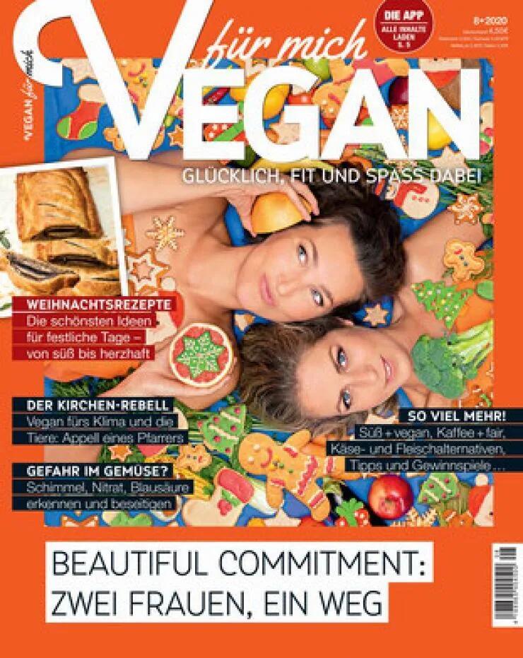 Vegan für mich Abo (8 Ausgaben) für 34,20 € mit 30 € BestChoice-Gutschein (Kein Werber nötig)