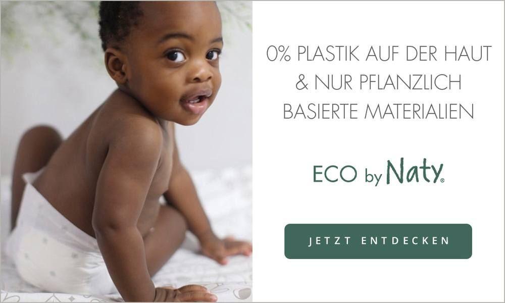 Eco by Naty 10% bei Windeln.de z.B. auf Windeln oder Feuchttücher