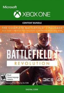 Battlefield 1 Revolution Xbox (Download Key) plus Battlefield 1943