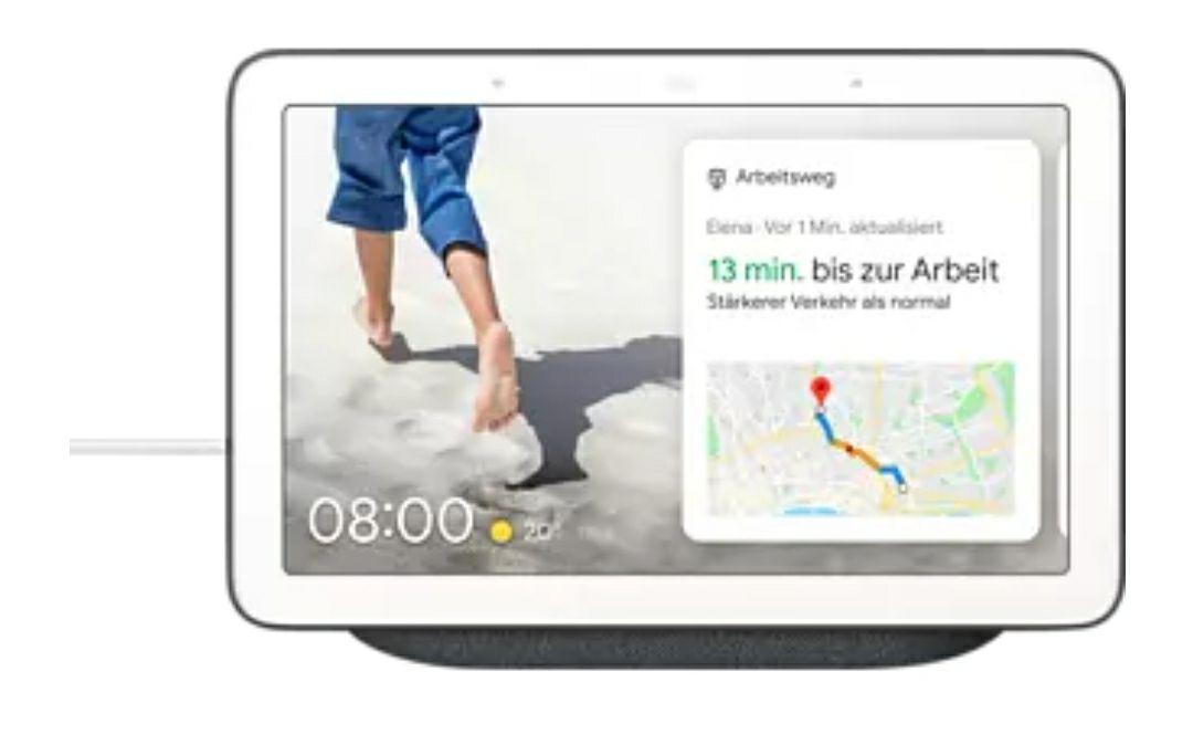 GOOGLE Nest Hub Smart Speaker, Carbon
