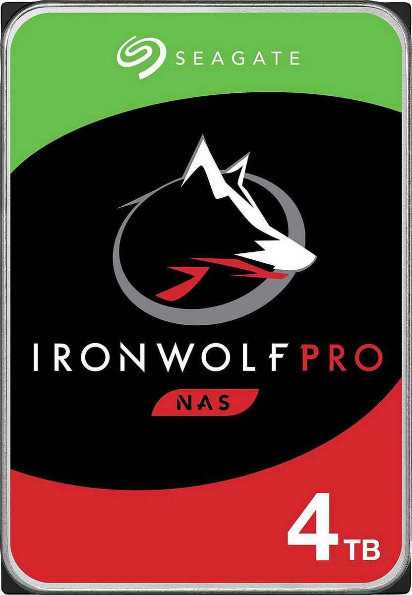 SEAGATE Ironwolf Pro NAS 4TB 114,90 / 8TB 199,99