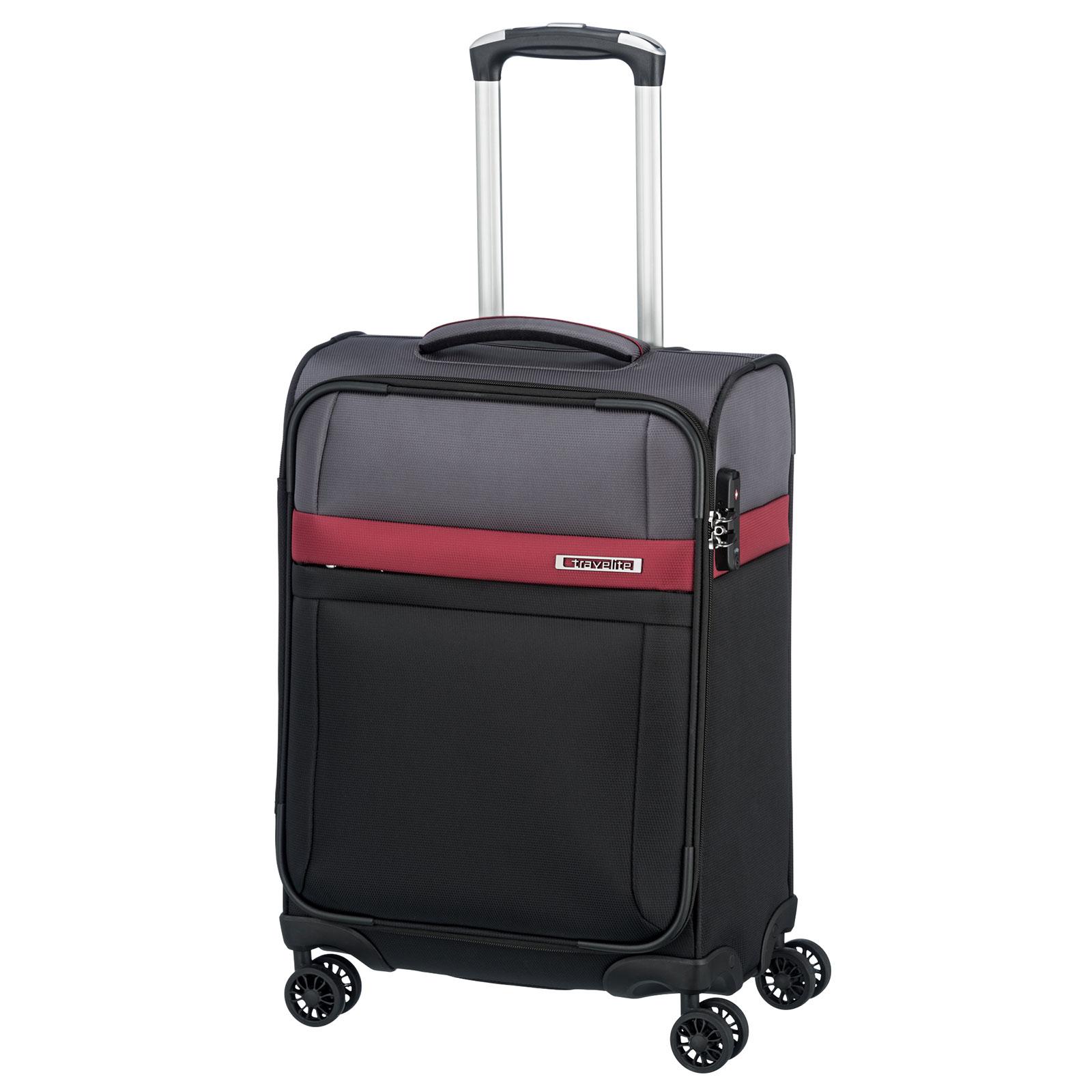 koffermarkt.com - Travelite Stream 4-Rollen-Trolley 55 cm Handgepäck