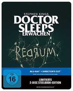 Stephen Kings - Doctor Sleeps Erwachen - Steelbook Edition (Blu-ray) für 13,50€ (Amazon Prime)