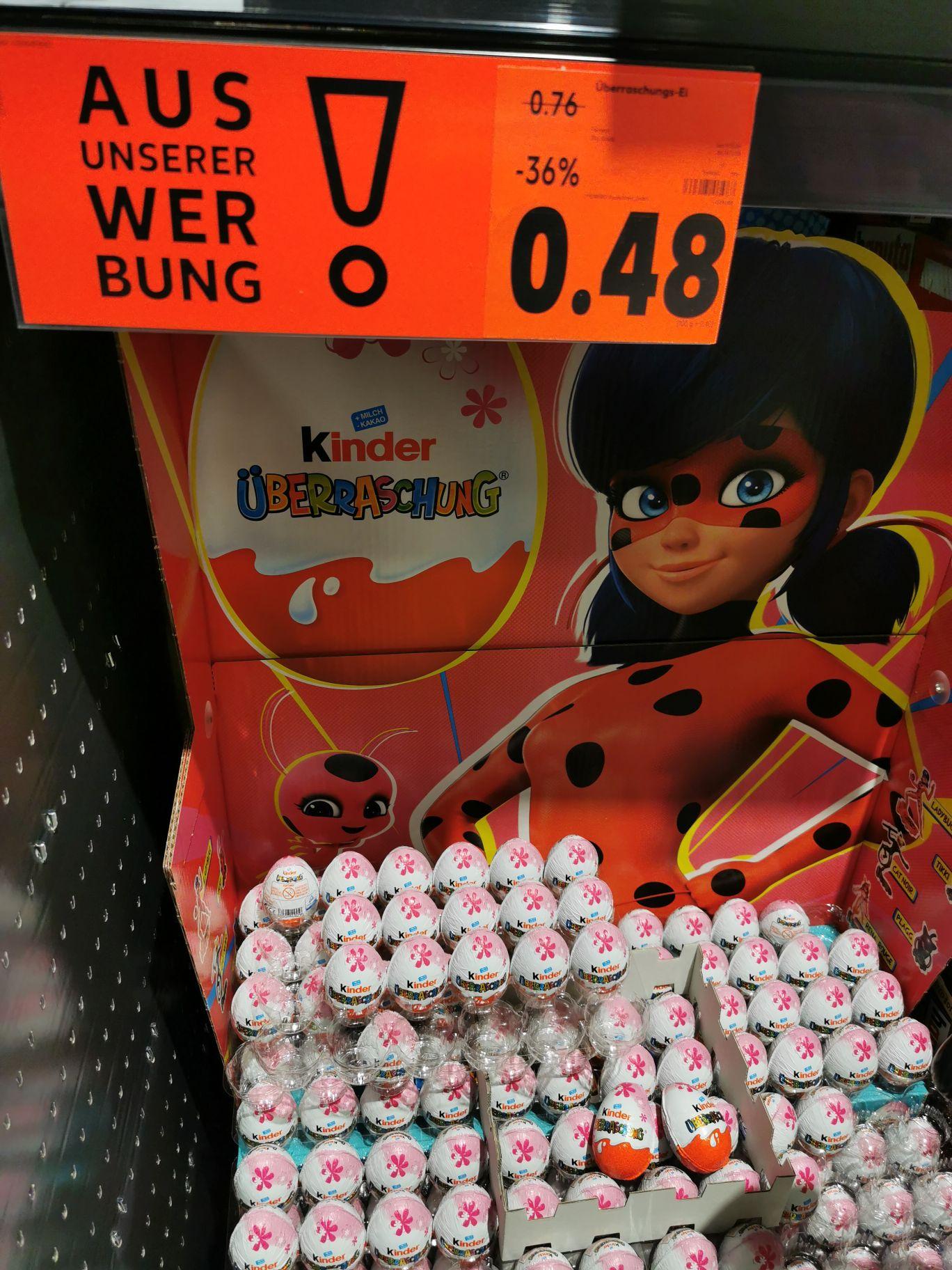 Kinder Überraschung Ei (Kaufland)