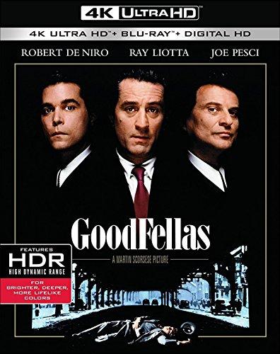 GoodFellas (4K Blu-ray + Blu-ray) für 12,76€ (Amazon.it)