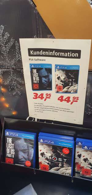 [Lokal Real Erfurt/Bundesweit?] THE LAST OF US PART II PS4