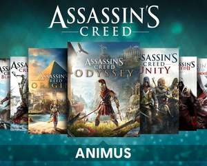 [PC Uplay] Pack Assassin's Creed Animus: alle spiele und DLCs except Valhalla