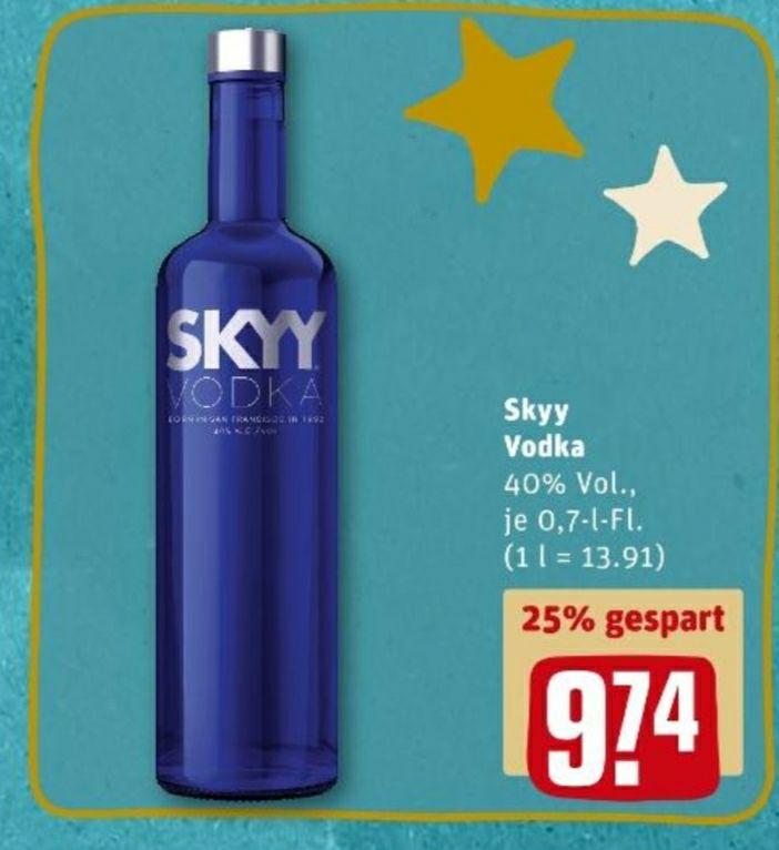 [REWE] Skyy Vodka 0,7 | 40%