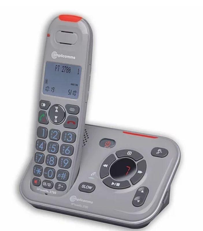 Senioren Schnurlostelefon amplicomms powertel 2780 AB
