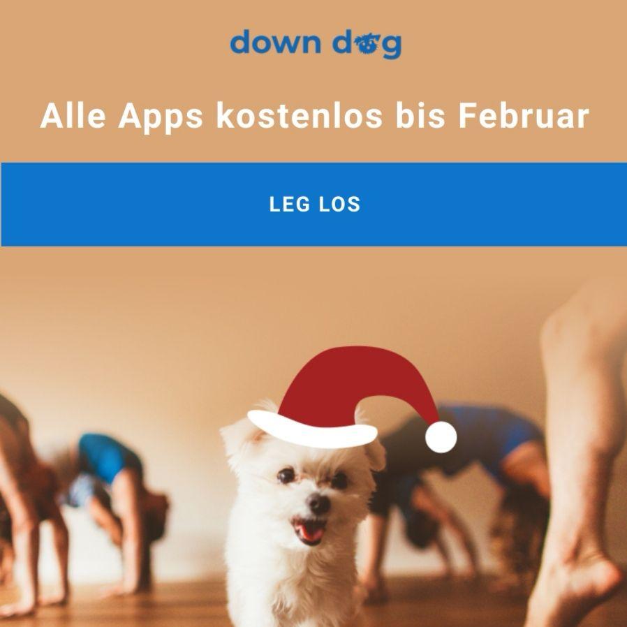 Down Dog (Yoga, etc.) bis Februar kostenlos