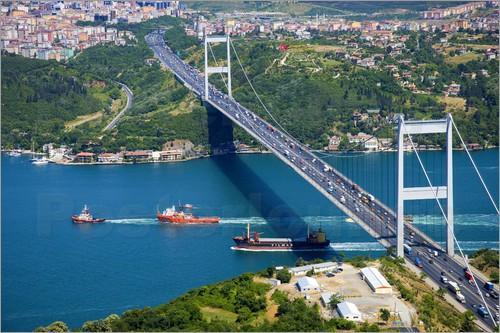 Flüge: Istanbul ab Friedrichshafen 88,- € hin und zurück mit Turkish Airlines (Mai-Juli)