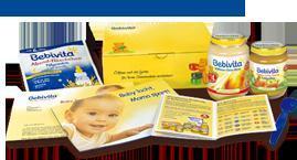 Bebivita Babybrei und Folgemilch und Plastiklöffel KOSTENLOS