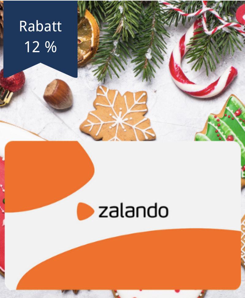 [Mitarbeitervorteile.de] 12 % Rabatt auf Gutscheine von Zalando