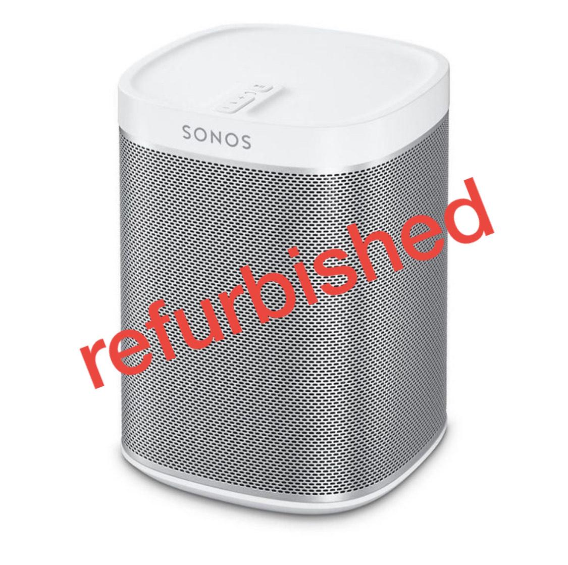 Sonos Play 1 in weiß, refurbished (generalüberholt) für 129,-€ bzw. 109,65€ möglich.
