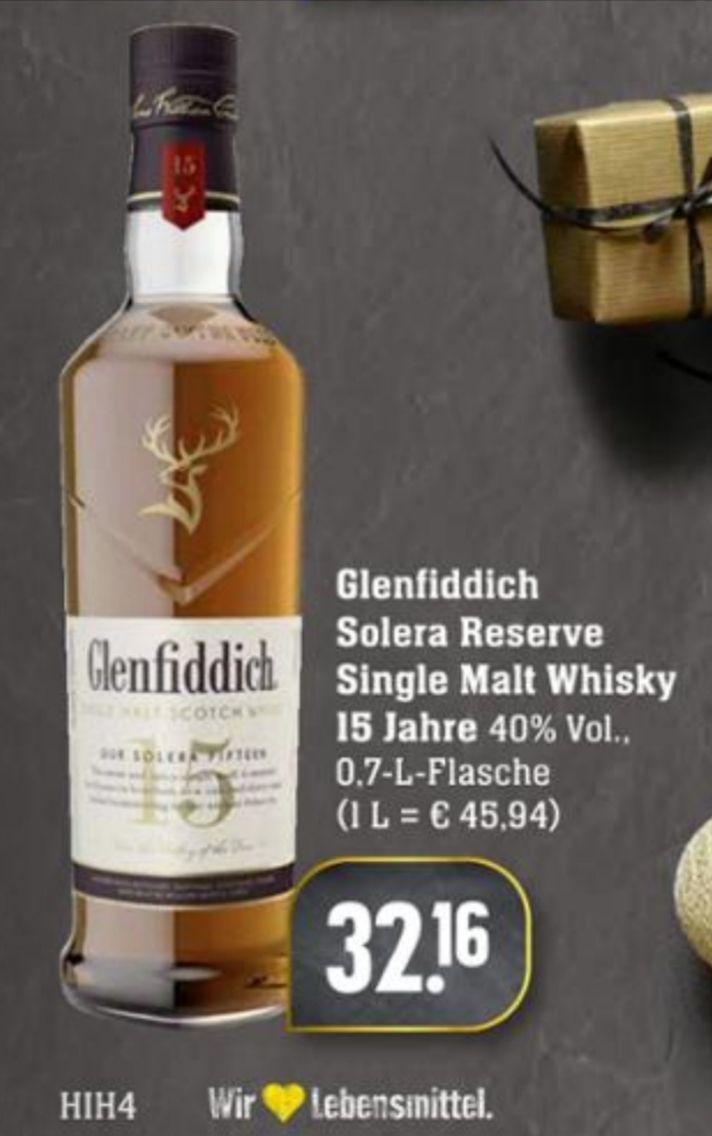 [Lokal] Glenfiddich 15 Jahre 40% Solera Reserve 0,7 Liter