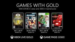 Xbox Spiele mit Gold - Little Nightmares, Trine 4, The King of Fighters XIII, Breakdown