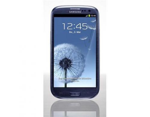 Samsung i9300 Galaxy S3 16GB Pebble Blue Vodafone für 395,60 €