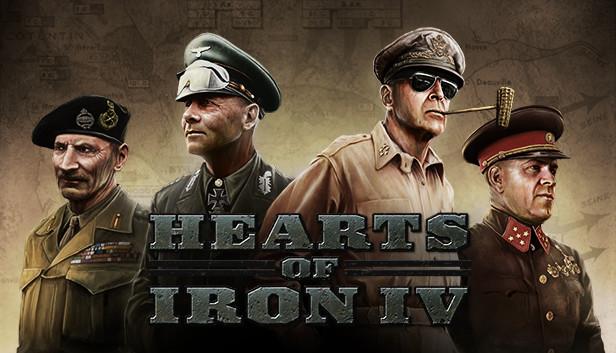 Hearts of Iron IV + alle notwendigen Erweiterungen Zusammengestellt.
