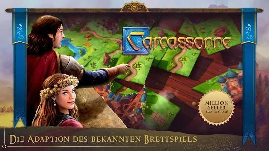 Carcassonne: Das offizielle Brettspiel für 2,29€ @ Google Play (Itunes)
