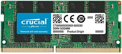 Crucial 1x16 GB DDR4 2666 CL19 SO-DIMM für Notebooks