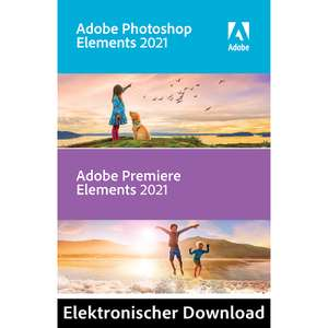 Adobe Photoshop & Premiere Elements 2021