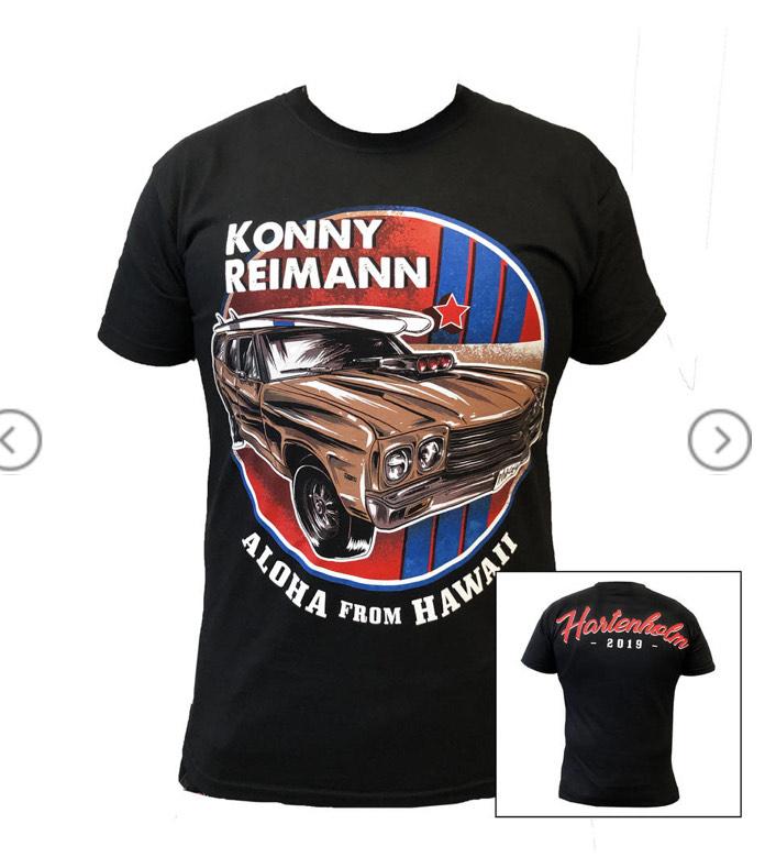 Konny Reimann Tshirt und Girlie - Werner das Rennen 2019