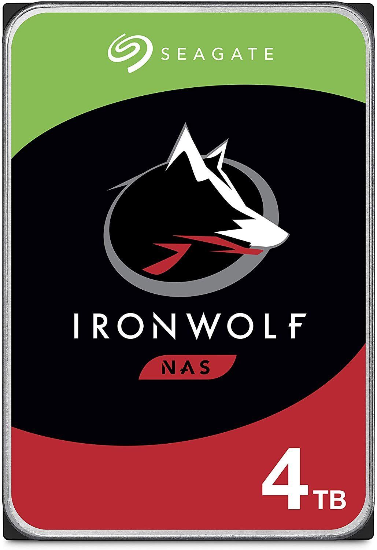 2x Seagate Ironwolf 4TB 3.5 Zoll SATA 6Gb/s CMR NAS ST4000VN008