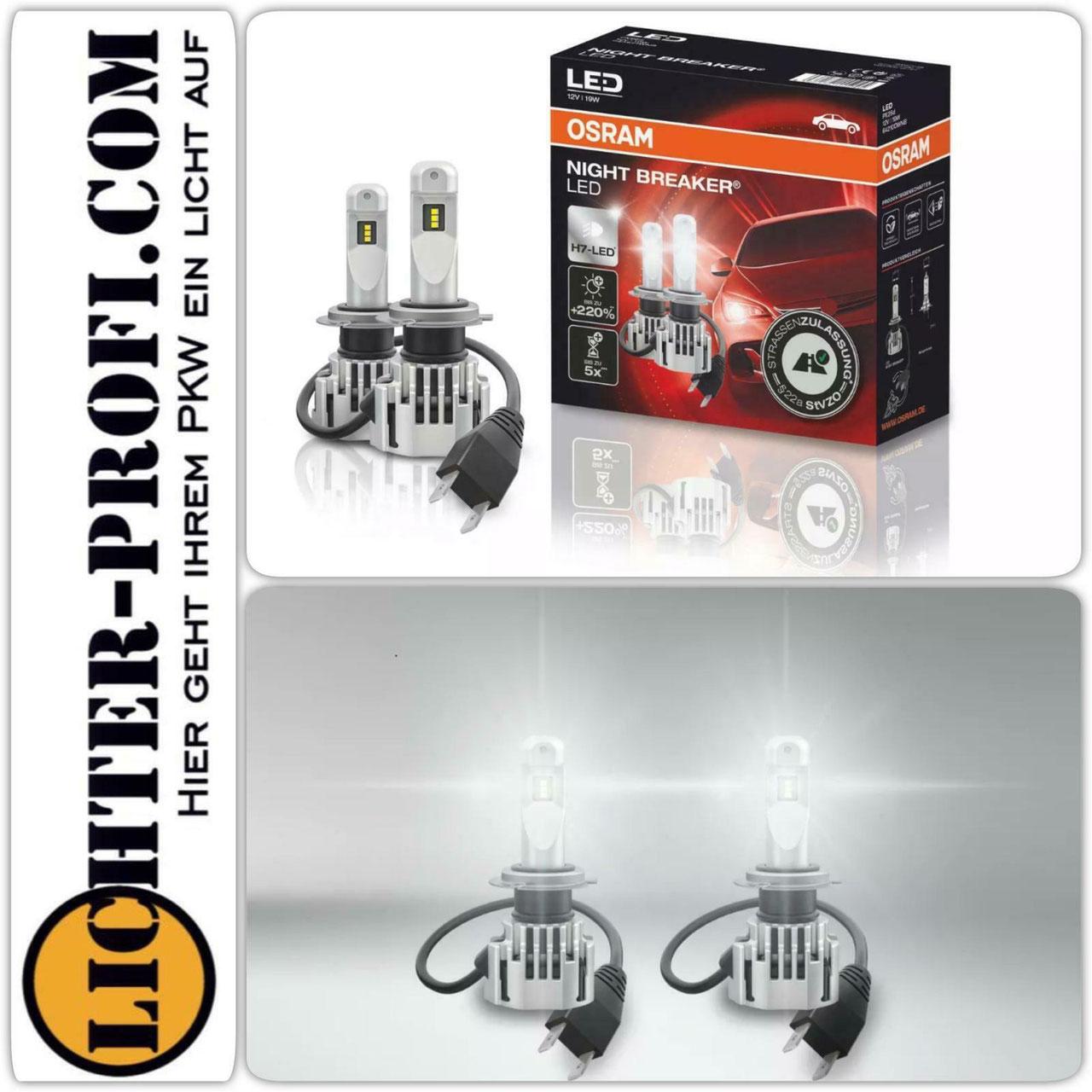 Osram Night Breaker h7 LED mit Zulassung