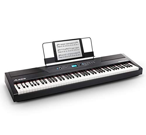 Alesis Recital Pro, 88 Tasten Digital Piano, E-Klavier mit Hammermechanik [Musikinstrumente]
