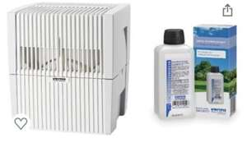 Amazon Prime Venta LW25 Luftbefeuchter / Luftreiniger + Reiniger