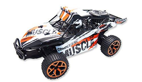 [Amazon.de/Prime] Sand Buggy Extreme D5 1:18 4WD RTR, Fahrzeug, weiß/orange