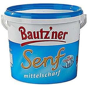 Bautz´ner Senf mittelscharf, 1kg für 97 Cent / Lorenz Snack-Hits für 1,75 Euro [ Netto mit Hund ]