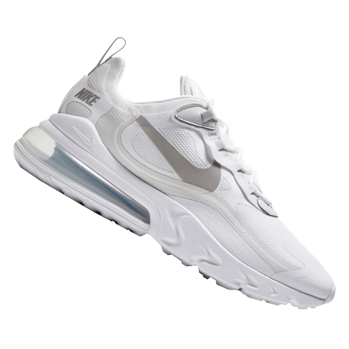 Nike Freizeitschuh Air Max 270 React weiß (Größen 40 bis 46)