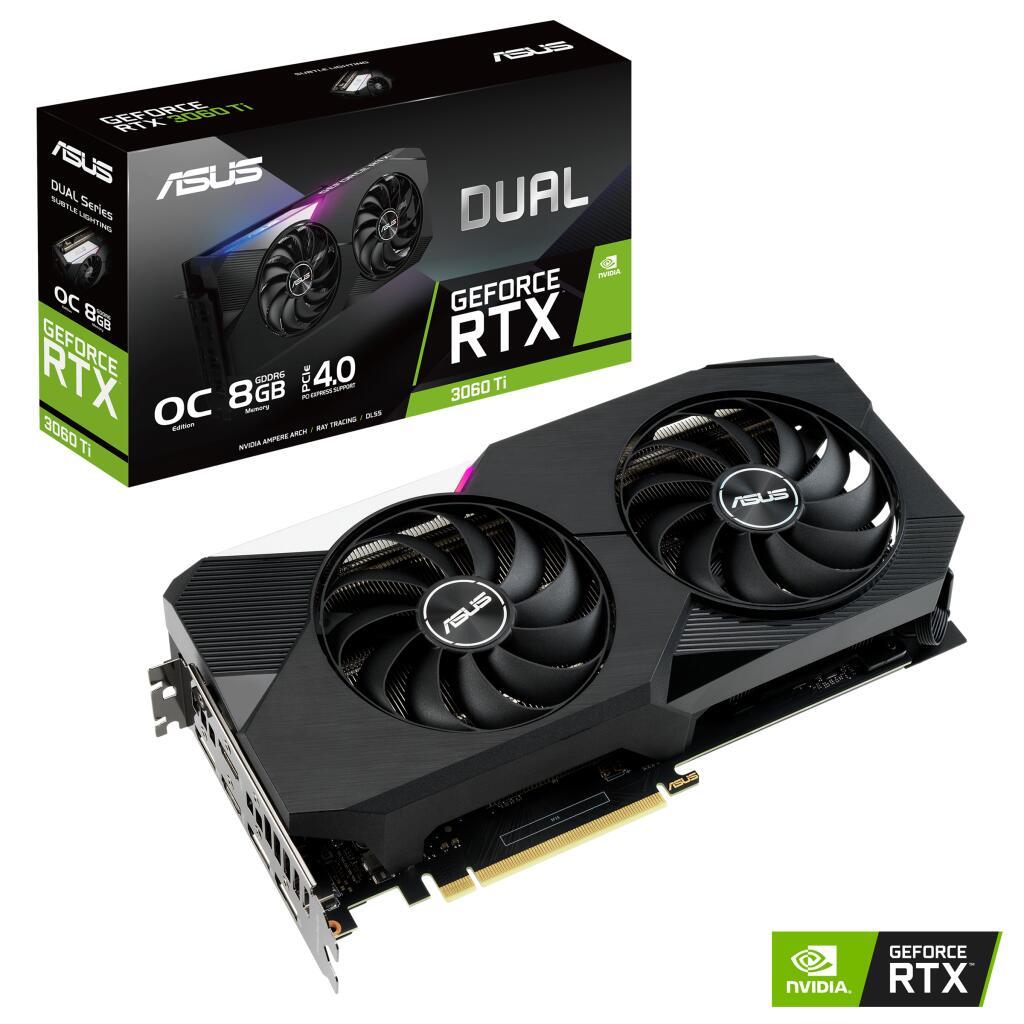 [Media Markt] ASUS Dual GeForce RTX 3060 Ti OC, DUAL-RTX3060TI-O8G, 8GB GDDR6, 2x HDMI, 3x DP (90YV0G12-M0NA00)